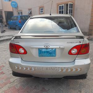 Toyota Corolla 2005 S Silver | Cars for sale in Lagos State, Ajah
