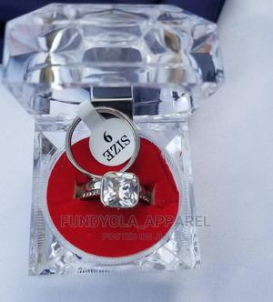 Stainless Steel Silver Wedding Ring Set | Wedding Wear & Accessories for sale in Lagos State, Ajah