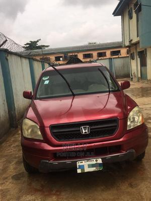 Honda Pilot 2005 Red   Cars for sale in Lagos State, Alimosho
