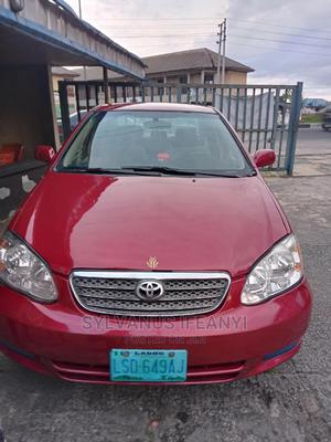 Toyota Corolla 2006 CE Red | Cars for sale in Rivers State, Port-Harcourt