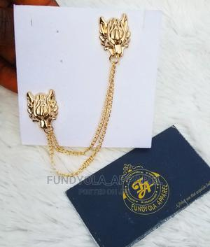 Gold Lapel Male Brooch | Jewelry for sale in Lagos State, Ajah