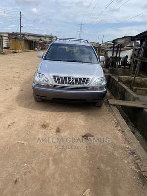 Lexus RX 2001 300 4WD Silver | Cars for sale in Lagos State, Alimosho