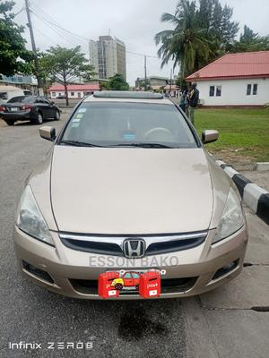 Honda Accord 2004 Automatic Gold | Cars for sale in Lagos State, Victoria Island