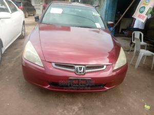 Honda Accord 2003 Red   Cars for sale in Lagos State, Agboyi/Ketu