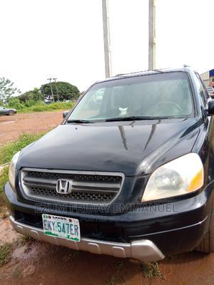 Honda Pilot 2003 EX 4x4 (3.5L 6cyl 5A) Black | Cars for sale in Ondo State, Akure