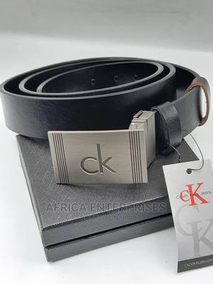 Original Calvin Klein Leather Belt | Clothing Accessories for sale in Lagos State, Surulere