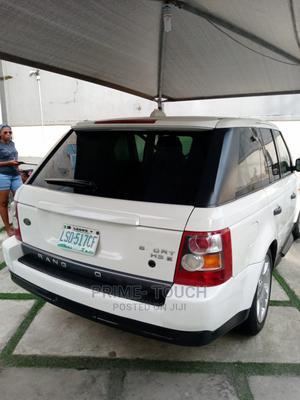 Land Rover Range Rover Sport 2008 4.2 V8 SC White | Cars for sale in Lagos State, Surulere