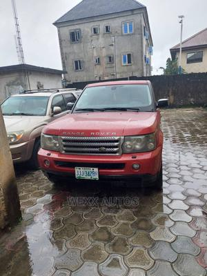 Land Rover Range Rover Sport 2006 HSE 4x4 (4.4L 8cyl 6A) Red   Cars for sale in Rivers State, Port-Harcourt