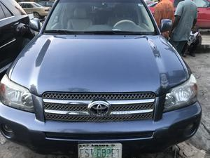 Toyota Highlander 2006 Hybrid Blue | Cars for sale in Lagos State, Amuwo-Odofin