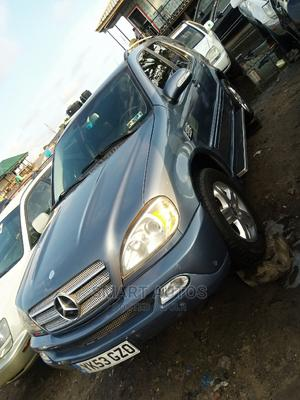 Mercedes-Benz M Class 2005 ML 350 Blue   Cars for sale in Lagos State, Apapa