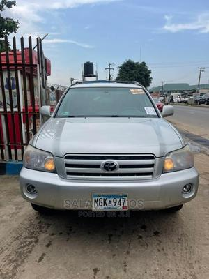 Toyota Highlander 2005 Silver   Cars for sale in Lagos State, Ogba