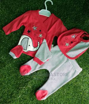 5pcs Starter Set for Ur Newborn %Cotton Material | Children's Clothing for sale in Lagos State, Gbagada