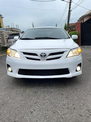 Toyota Corolla 2013 White   Cars for sale in Lagos State, Ogba