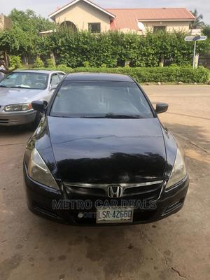 Honda Accord 2006 2.0 Comfort Automatic Black   Cars for sale in Abuja (FCT) State, Garki 2