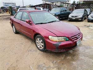 Honda Accord 2001 5P Red   Cars for sale in Akwa Ibom State, Uyo