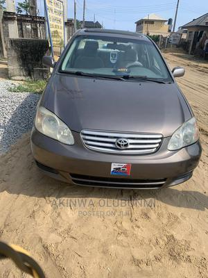 Toyota Corolla 2004 1.4 D Automatic Gray   Cars for sale in Lagos State, Ajah