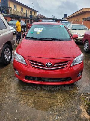Toyota Corolla 2013 Red | Cars for sale in Lagos State, Alimosho