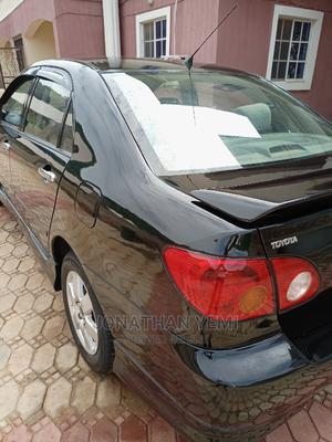 Toyota Corolla 2004 S Black | Cars for sale in Abuja (FCT) State, Kubwa