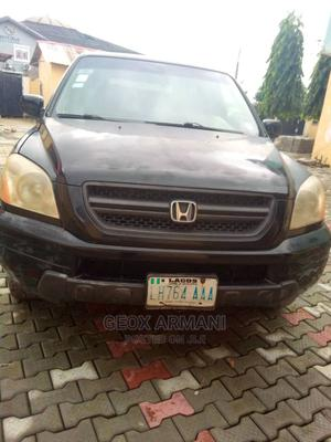 Honda Pilot 2004 EX 4x4 (3.5L 6cyl 5A) Black | Cars for sale in Lagos State, Ajah
