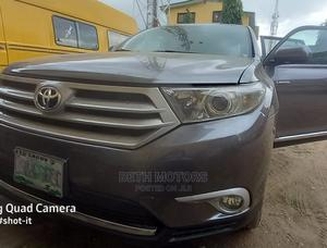 Toyota Highlander 2013 Limited 3.5l 4WD Gray   Cars for sale in Lagos State, Eko Atlantic