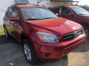 Toyota RAV4 2008 200 4X4 Automatic Red | Cars for sale in Lagos State, Apapa