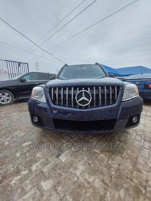 Mercedes-Benz GLK-Class 2011 350 4MATIC Blue | Cars for sale in Lagos State, Surulere