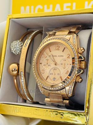 Michael Kos With Two Bangles, Carrier Fully Packed | Watches for sale in Lagos State, Lagos Island (Eko)