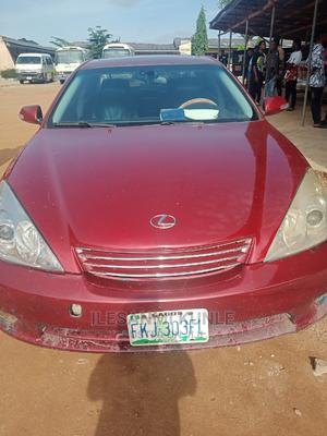 Lexus ES 2005 330 Red | Cars for sale in Ondo State, Akure