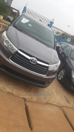 Toyota Highlander 2014 Gray   Cars for sale in Lagos State, Ikeja