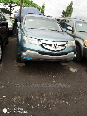 Acura MDX 2008 SUV 4dr AWD (3.7 6cyl 5A) Blue   Cars for sale in Lagos State, Apapa
