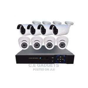 Super Quality 8 Channels DVR 5in1 + CCTV Cameras | Security & Surveillance for sale in Lagos State, Ojo