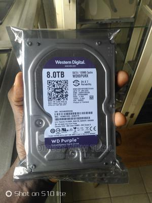 8tb WD Purple Surveillance HDD   Computer Hardware for sale in Lagos State, Ikeja