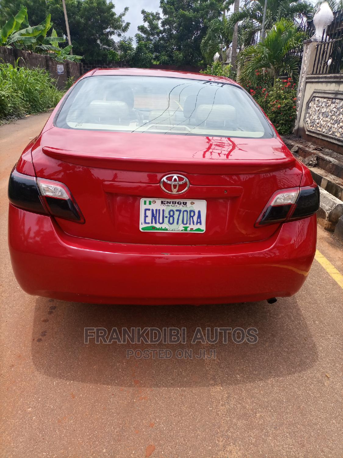 Toyota Camry 2008 Red   Cars for sale in Oshimili South, Delta State, Nigeria