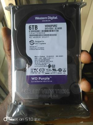 6tb WD Purple Surveillance HDD   Computer Hardware for sale in Lagos State, Ikeja