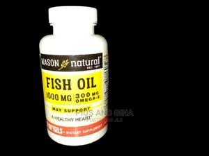 Mason Fish Oil 1000mg -60 Softgels | Vitamins & Supplements for sale in Lagos State, Alimosho
