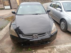 Honda Accord 2003 Automatic Black   Cars for sale in Lagos State, Alimosho