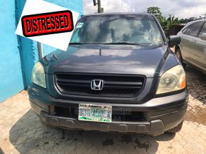 Honda Pilot 2004 EX 4x4 (3.5L 6cyl 5A) Gray   Cars for sale in Lagos State, Ikeja