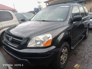 Honda Pilot 2004 EX 4x4 (3.5L 6cyl 5A) Gray   Cars for sale in Lagos State, Ifako-Ijaiye