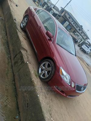 Lexus GS 2007 350 4WD Red | Cars for sale in Lagos State, Ifako-Ijaiye