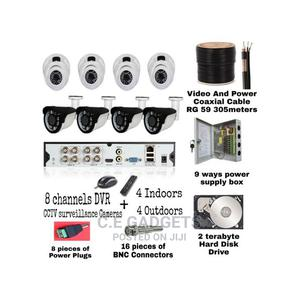 High Definition 1080P CCTV Camera 8 Channels Kit Combo   Security & Surveillance for sale in Lagos State, Ojo