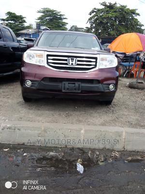 Honda Pilot 2013 Red   Cars for sale in Lagos State, Apapa