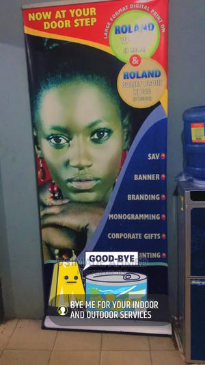 Roll Up Banner for Your Indoor and Outdoor Display   Printing Equipment for sale in Lagos State, Alimosho