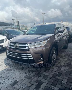Toyota Highlander 2018 Brown | Cars for sale in Lagos State, Lekki