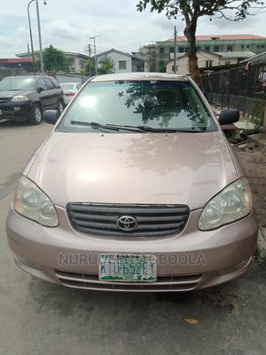 Toyota Corolla 2003 Sedan Automatic Gold | Cars for sale in Lagos State, Surulere