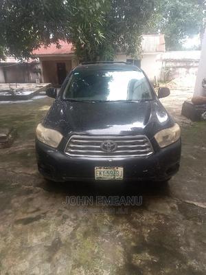 Toyota Highlander 2008 Black | Cars for sale in Anambra State, Idemili