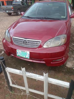 Toyota Corolla 2006 Red | Cars for sale in Delta State, Oshimili South
