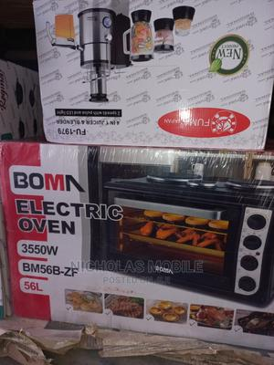 Boma Electric Oven With 3 Hot Plates 3550w 56L   Kitchen Appliances for sale in Lagos State, Ikeja