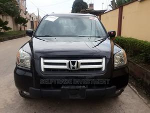 Honda Pilot 2006 EX-L 4x4 (3.5L 6cyl 5A) Black | Cars for sale in Lagos State, Gbagada