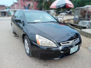 Honda Accord 2003 Automatic Black   Cars for sale in Lagos State, Isolo