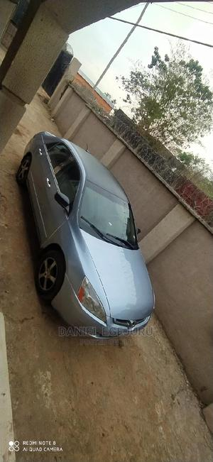 Honda Accord 2007 Hybrid Automatic Blue | Cars for sale in Delta State, Oshimili South